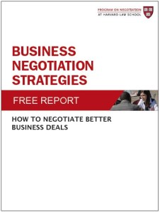 Business Negotiation Strategies: How to Negotiate Better Business Deals