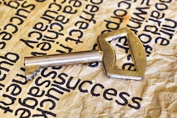 Success and key concept
