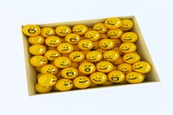 Box of emotion icons