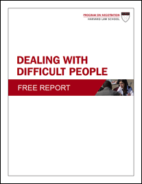 NEW! Dealing with Difficult People