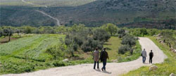 Walking Abraham's Path in Palestine