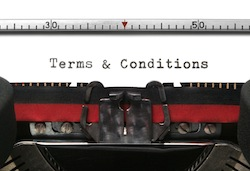 Typewriter Terms & Conditions