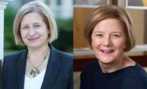 Ann Marie Lipinski and Helen Boaden