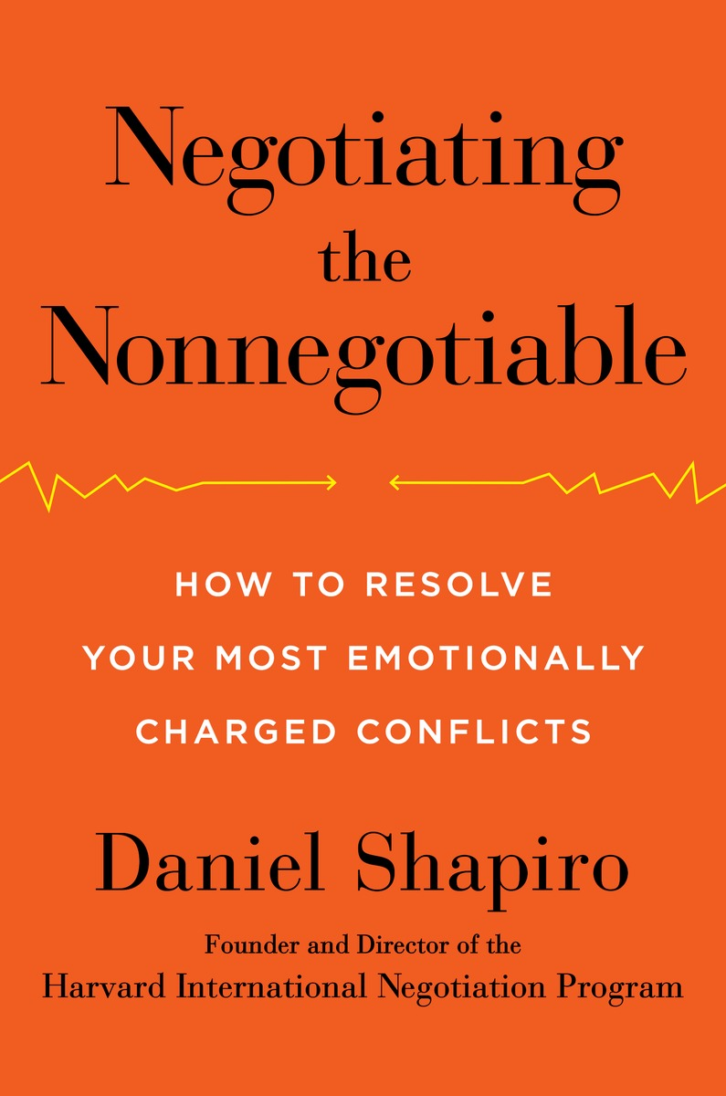 reconciliation in divided times how to negotiate the negotiating the nonnegotiable