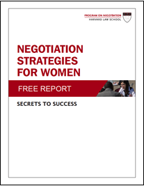 NEW! Negotiation Strategies for Women: Secrets to Success