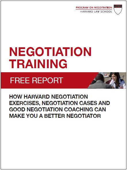 report on negotiation This approach to negotiation is frequently called integrated bargaining because of its emphasis on cooperation  iwr research report 82-r-1.