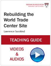 Rebuilding the World Trade Center Site