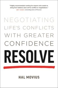 resolve negotiating life s conflicts with greater confidence a