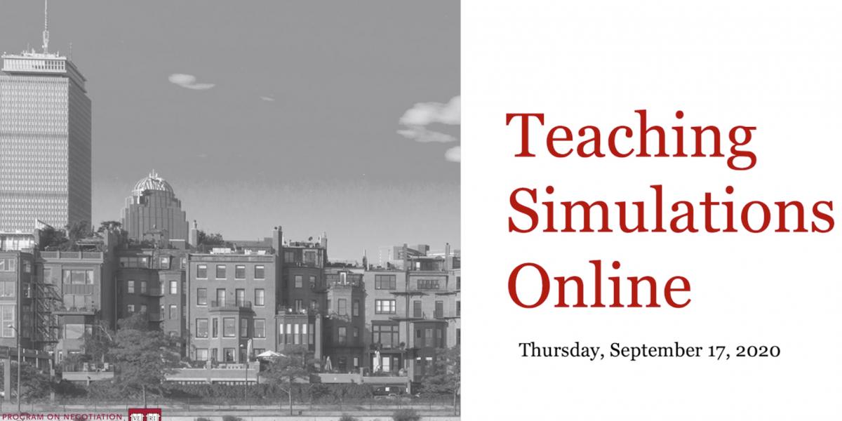 Teaching Simulations Online