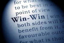 Fake Dictionary, Dictionary definition of the word win-win.