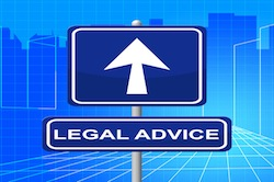 Legal Advice Representing Placard Crime And Litigation
