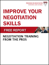 Improve Your Negotiation Skills: Negotiation Training from the Pros