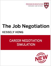 The Job Negotiation