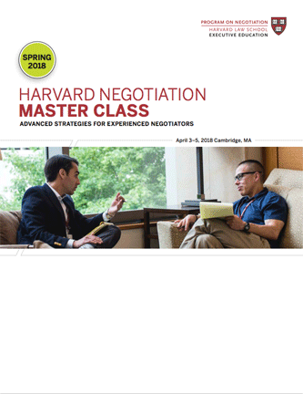 New Master Class