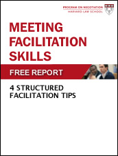 Meeting Facilitation Skills: 4 Structured Facilitation Tips