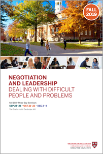 Negotiation and Leadership