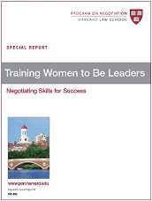 Training Women to Be Leaders: Negotiating Skills for Success