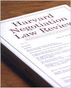 <em>Harvard Negotiation Law Review</em>